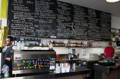 huge cafe menu