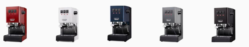 Gaggia Classic Now Available in Colour.