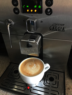 Best bean to cup machines. The Gaggia Brera.